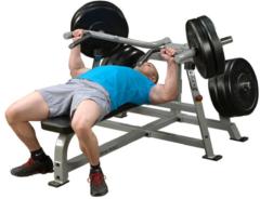 Halterbank - Body-Solid Chest Bench LVBP