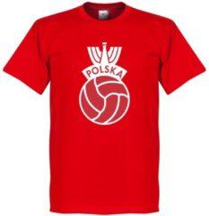 Retake Polen Vintage Logo T-Shirt - Rood - XS
