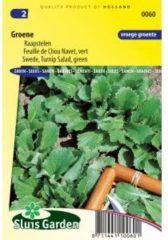 Sluis Garden Raapstelen (groen) zaden