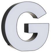 HEMA Lichtbox Buchstabe G (Schwarz/weiß)