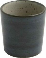Donkerblauwe Oskar Set of 4 cups diameter 6cm - LEA - midnight / D6