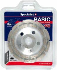SSpecialist+ Specialist+ 125mm x 22.23 Diamant komslijpschijven BASIC