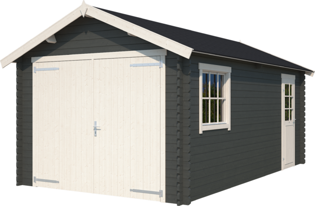 Afbeelding van Outdoor Life Products Outdoor Life | Garage Dillon | Carbon Grey | 560x320 cm