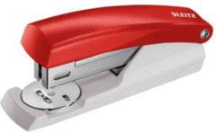Rode Leitz Nietmachine 5501 Rood 24/6 26/6 Metaal Plastic