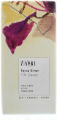 Vivani Chocoladereep Puur 71% Cacao