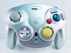 Zilveren Wavedash Wireless Gamecube Controller Silver (TTX Tech)