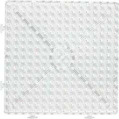 Creotime Onderplaat Groot Vierkant 15 X 15 Cm Transparant