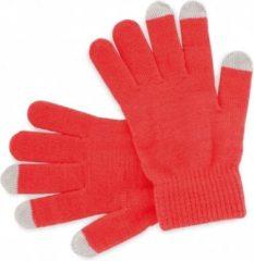 Merkloos / Sans marque Touchscreen handschoenen rood voor volwassenen