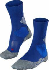 FALKE Ergonomic Sport System Falke 4 Grip Stabilizing Sportsokken - Maat 39-41 - Unisex - blauw/grijs/rood