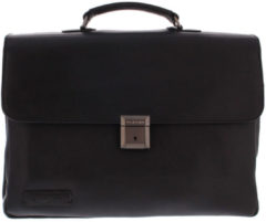 Plevier-Laptop schoudertassen-Laptop Bag 853 15.6 Inch-Zwart
