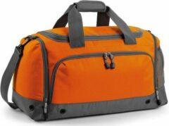 Bagbase Sporttas/reistas oranje/grijs 30 liter - Sporttassen - Weekendtassen - Voetbaltassen
