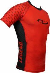 Legend Sports Legend DRYFIT Shirt/MMA Rood XS