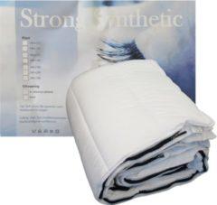 Witte Strong Synthetic Ultrasoft 4-Seizoenen Dekbed (met Rits) - Eenpersoons - 140x220 cm
