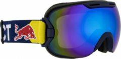 Donkerblauwe Red Bull Spect Eyewear Skibril Slope Unisex (003)