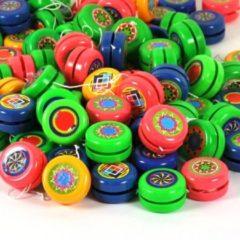 Decopatent 100 Stuks - Gekleurde Uitdeel Jojo's - Yoyo's - Uitdeelcadeautjes - Uitdeel - Traktatie voor kinderen - Jongens - Meisjes