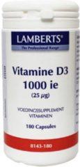 Lamberts Vitamine D3 1000IE 25 mcg 180 capsules