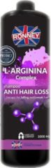 Ronney Professional Shampoo L-Arginina Complex Anti Hair Loss Therapy For Falling Out And Weak Hair 1000 ml