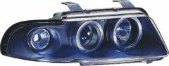 Universeel Set Koplampen Audi A4 B5 1995-1998 - Zwart - incl. Knipperlichten & Angel-Eyes