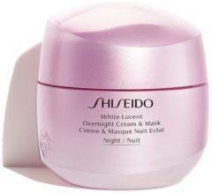 Shiseido White Lucent Overnight Cream & Mask - pigment corrector nachtcrème & masker