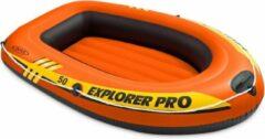 Oranje Intex Opblaasboot Explorer Pro 50 137x85x23 centimeter