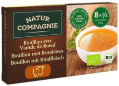 Natur Compagnie Rundvleesbouillon blokjes 8 Stuks