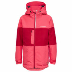 Vaude - Kid's Snow Cup Jacket - Ski-jas maat 92, rood/roze
