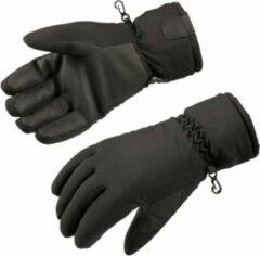 Gloves&Co Fleece gevoerde heren handschoen, zwart, maat XXL