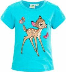 Disney Bambi baby shirt, blauw, maat 92