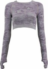 Paarse Legend Sports Dames Sport-Top Army Purple S