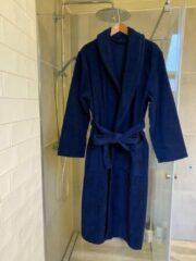 Merkenloos Badjas/kamerjas Donkerblauw (M)100% katoen