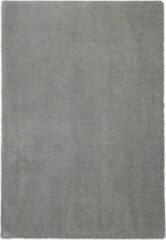 Flooo Vloerkleed Soft Touch Sunset Grey Grijs - Tapijten woonkamer - Hoogpolig - Extreem zacht - 240x340