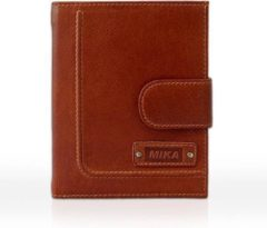 Portefeuille Mika cognac leer JU-14113002