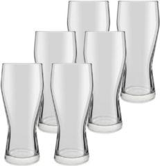 Royal Leerdam 6x Speciaal bierglazen transparant 400 ml Mainz
