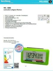 Techno Line TechnoLine WL 1000 Luftgüte-Monitor mit Luftgütealarm - grün