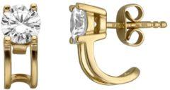 Goudkleurige Esprit ESER00101200 Lillian Oorknoppen - Zilver geelgoudverguld - Goudkleurig