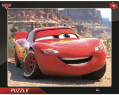 Dino frame puzzel Cars Lightning Mcqueen 40pcs
