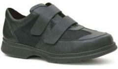 Zwarte Nette schoenen Calzamedi SCHOENEN DUBBELE DIABETICO H