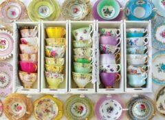 Eurogra Puzzel 1000 stukjes-Tea Cups Boxes