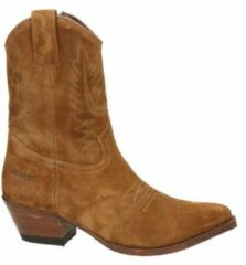Sendra dames cowboylaars - Cognac - Maat 42