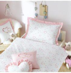 Rosa Mako-Satin Bettwäsche Lilly Lorena pink