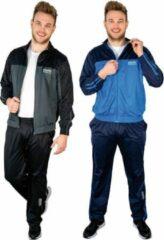 Merkloos / Sans marque Trainingspak marineblauw maat M