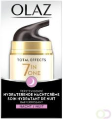 4x Olaz Total Effects 7-in-1 Anti-veroudering Nachtcrème 50 ml