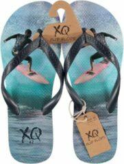Blauwe XQ Footwear Flipflop Slipper Heren Surfing