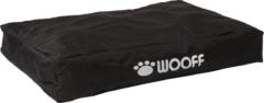 Wooff Matras Korrelkussen Zwart - Hondenmatras - 75x55x15 cm