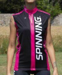 Roze Spinning® Team Mouwloze Jersey L