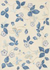 Wedgwood - Wild Strawberry Cream 38108 Vloerkleed - 250x350 cm - Rechthoekig - Laagpolig Tapijt - Klassiek - Beige, Blauw