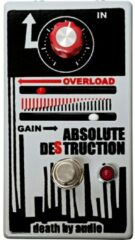 Death By Audio Absolute Destruction fuzz effectpedaal