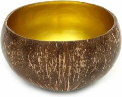 Bazar Bizar De Coco Food Kom - Naturel Goud - Set van 2 kommen