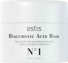 Roze ASTIS Hyaluronic Acid Mask - Met hyaluronzuur en collageen