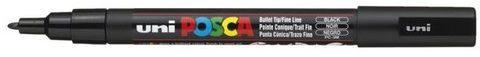 Afbeelding van Uni Posca Uni-ball Paint Marker op waterbasis Posca PC-3M zwart